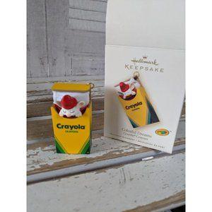 Hallmark Crayola colorful dreams 2007 ornament Xma